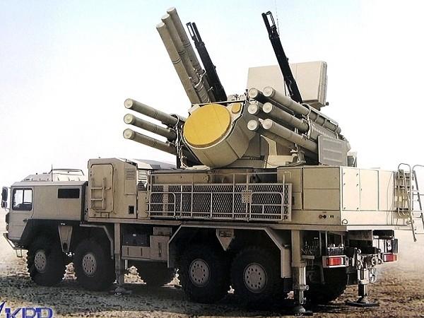 Hệ thống phòng không tầm ngắn Pantsir-S1 của Nga