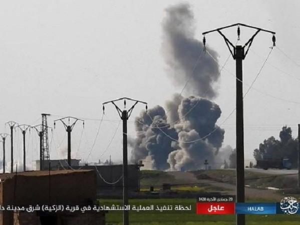 IS đánh bom liều chết ở Aleppo, 9 binh sĩ Syria thiệt mạng ảnh 1