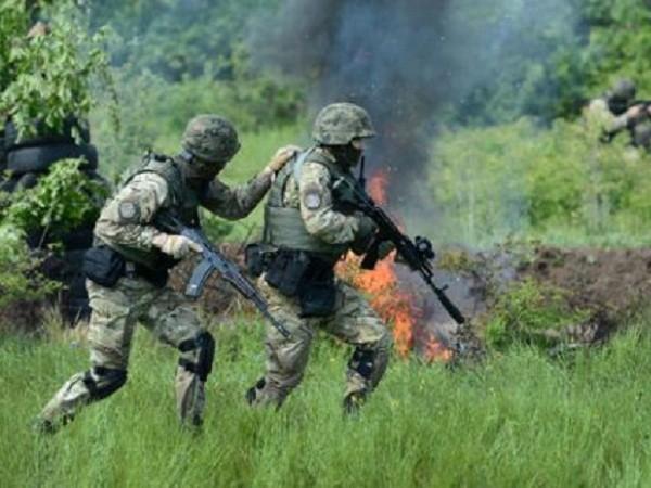 Binh sĩ quân đội Ukraine ở miền đông đất nước