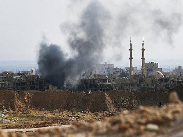 Một vị trí đóng quân của IS ở thành phố Deir ez-Zor của Syria vừa bị tấn công