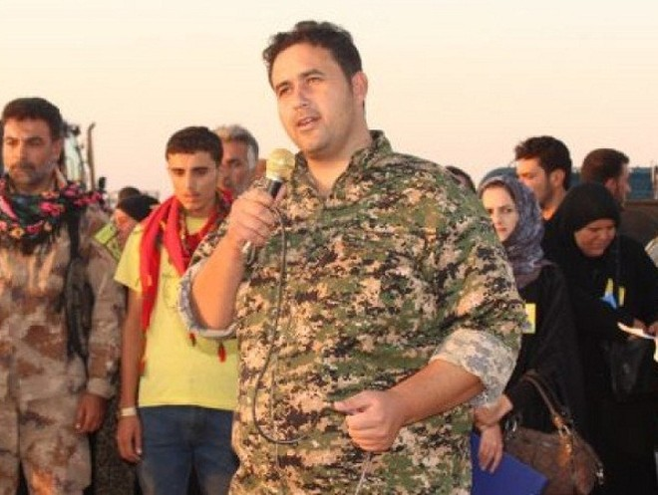 Chỉ huy lực lượng Dân chủ Syria Omid Kabar