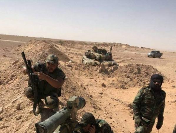 Lực lượng vũ trang địa phương (NDF) trên chiến trường Deir Ezzor