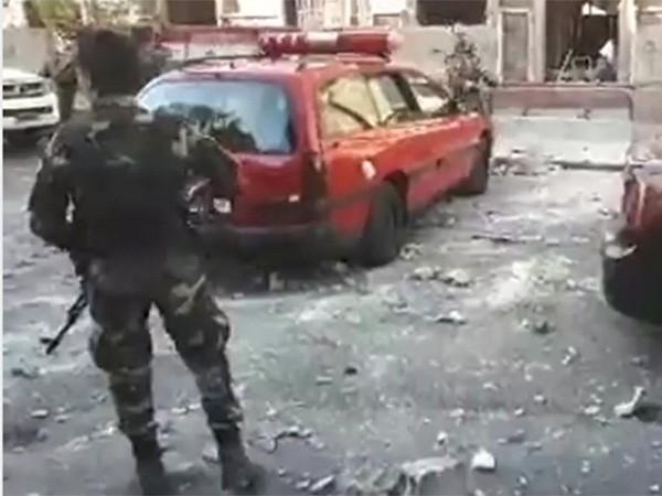 Syria: Đánh bom rung chuyển Damascus, 2 cảnh sát thiệt mạng ảnh 1