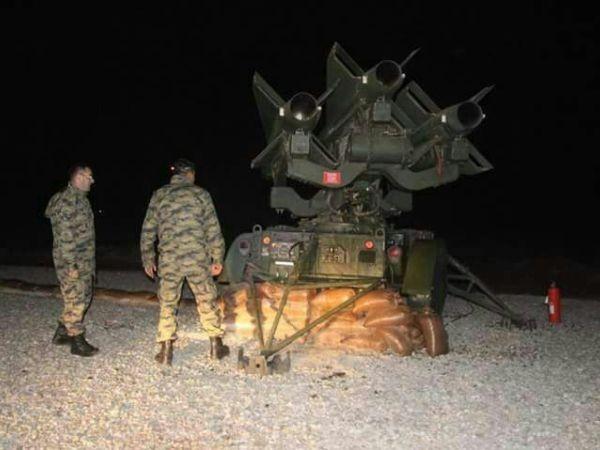 Thổ Nhĩ Kỳ thiết lập hệ thống tên lửa phòng không ở tỉnh Aleppo của Syria