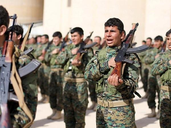 Các tay súng SDF được Mỹ hậu thuẫn