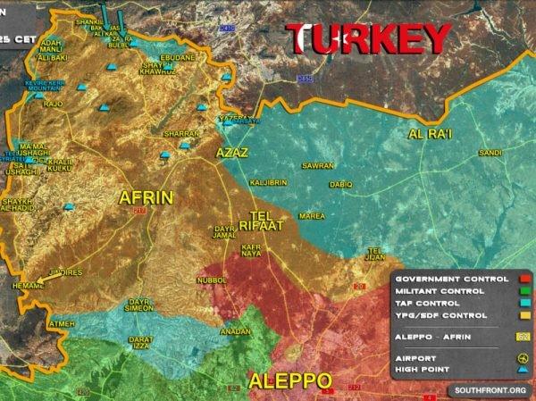 Người Kurd thua liểng xiểng trước quân đội Thổ Nhĩ Kỳ ở Afrin ảnh 1
