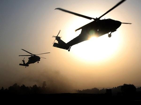 Trực thăng Mỹ được nhìn thấy vận chuyển phiến quân IS ra khỏi Al-Hasakah