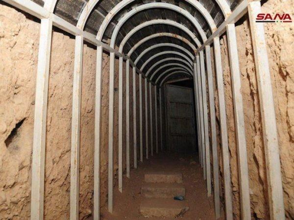 Nhà tù khét tiếng At-Tubah của phiến quân ở Douma, Đông Ghouta