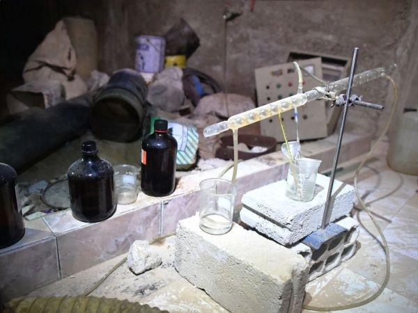 SAA phát hiện phòng thí nghiệm và kho chứa hóa chất của phiến quân ở Douma, Đông Ghouta