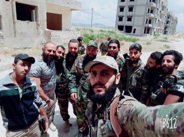Lực lượng ưu tú của SAA có mặt ở Al-Quneitra, ngày 31-5-2018