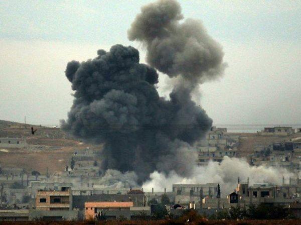 Một cuộc không kích của Mỹ ở đông Syria