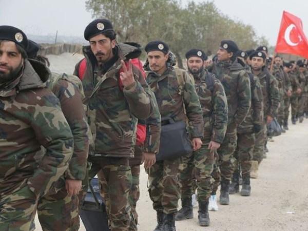 Các tay súng FSA được Thổ Nhĩ Kỳ hậu thuẫn