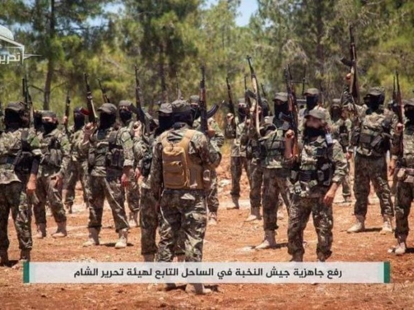 Phiến quân HTS ở bắc Latakia