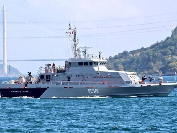 Tàu tuần tra chống phá hoại ВМФ lớp Grachonok Yunarmeets Kryma 836 của Nga