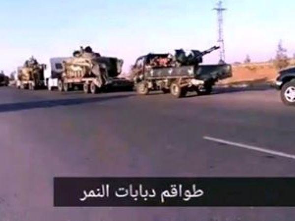 Đoàn xe lớn của SAA rầm rập tiến về tây bắc chuẩn bị tấn công mạnh Idlib