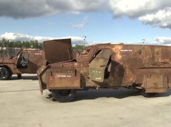 """Vũ khí và thiết bị của phiến quân bị thu giữ được trưng bày tại Diễn đàn """"Quân đội 2018"""""""