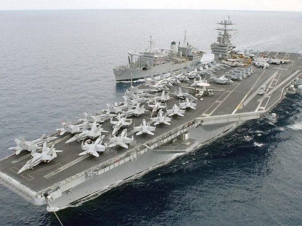 Nga: Mỹ điều tàu sân bay đến Trung Đông chuẩn bị tấn công Syria ảnh 1
