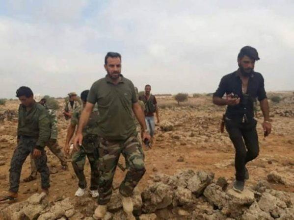 Binh sĩ quân đội Syria ở tỉnh Idlib