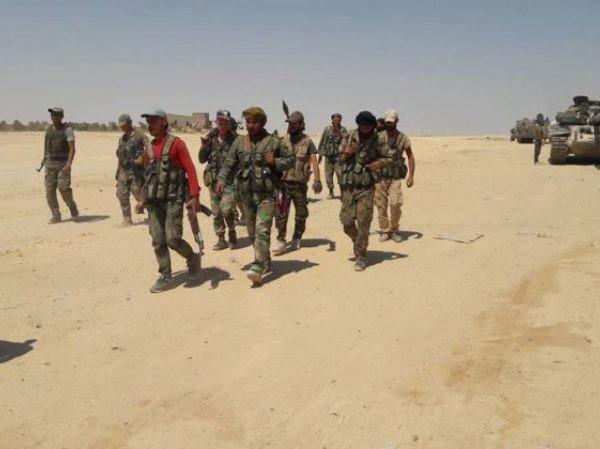 Dù phải chịu tổn thất lớn, SAA vẫn đạt những bước tiếp lớn ở nam Syria ảnh 1