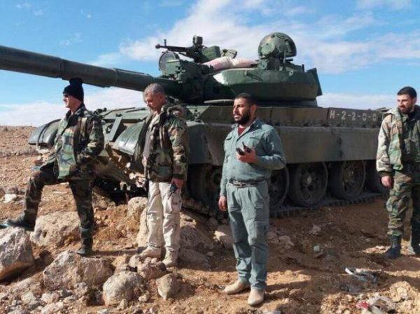 Quân đội Syria ở Idlib