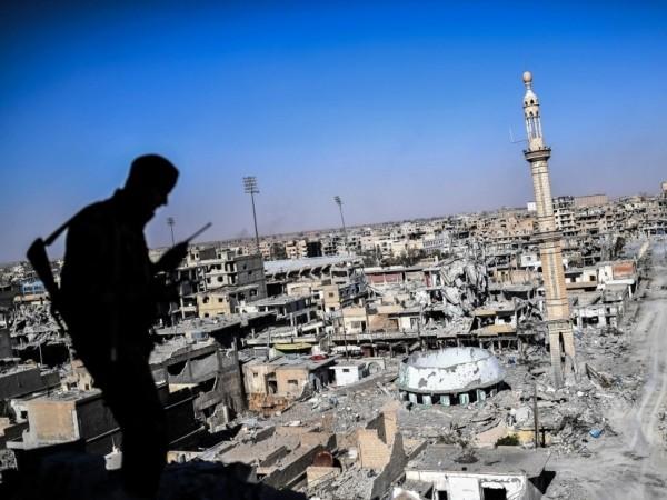 Thành phố Raqqa ở Syria