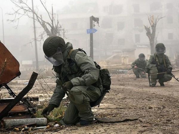 Các chuyên gia Nga khẳng định vũ khí hóa học đã được sử dụng ở Aleppo ảnh 1