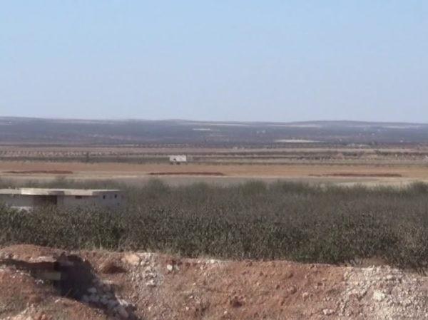 Một khu vực ở Idlib, Syria