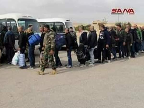 Hàng trăm cư dân ở đông Qalamoun gia nhập quân đội Syria