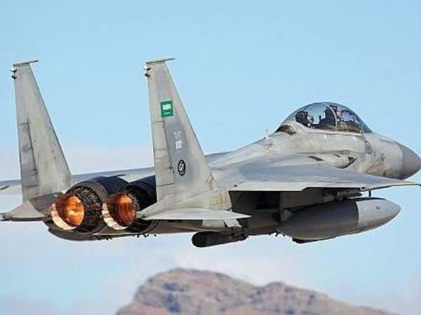 Chiến đấu cơ F-16 của Saudi Arabia