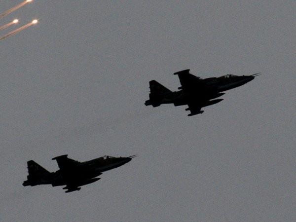Chiến đấu cơ Su-25 của Armenia