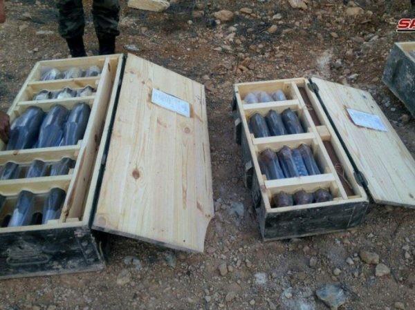 Nhiều vỏ đạn do Israel chế tạo đã được SAA tìm thấy trong đường hầm