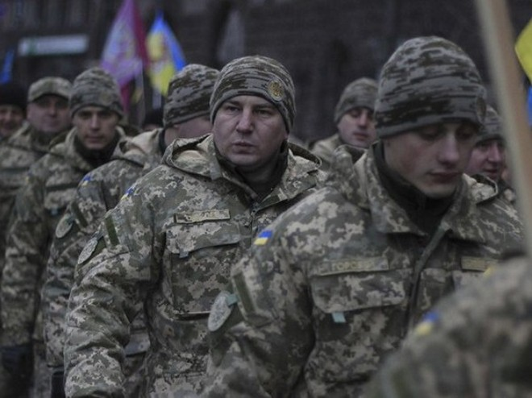 Binh sĩ quân đội Ukraine