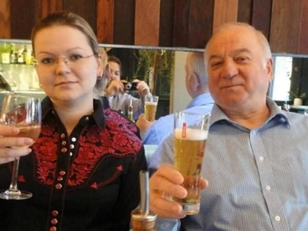 Bố con cựu điệp viên Nga Sergei Skripal