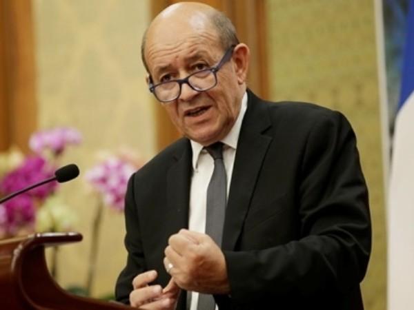 Ngoại trưởng Pháp Jean-Yves Le Drian