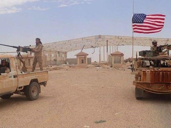 Căn cứ quân đội Mỹ ở al-Tanf của Syria