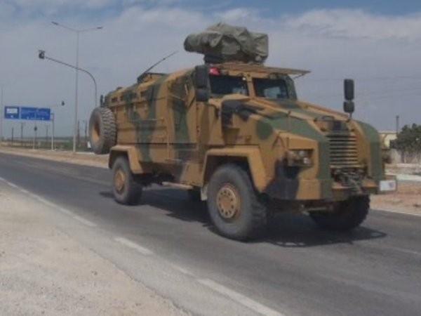 Xe quân sự Thổ Nhĩ Kỳ hiện diện ở Syria