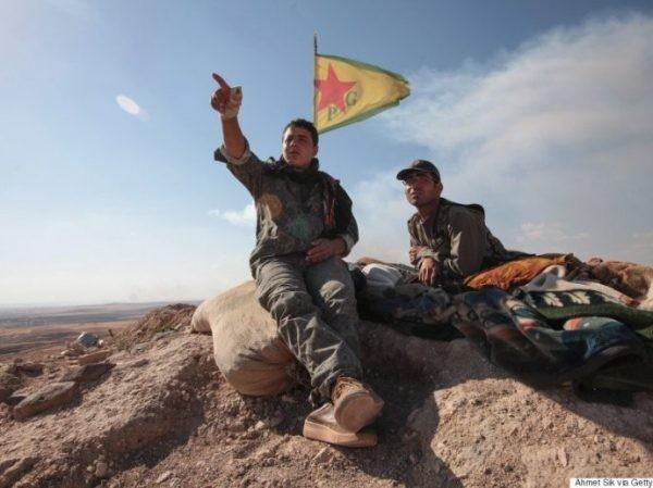 Các tay súng người Kurd ở Syria