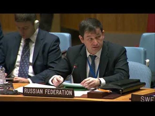 Phó đại diện thường trực thứ nhất của Nga tại LHQ Dmitry Polyansky