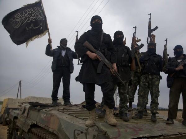 Các tay súng IS ở Syria