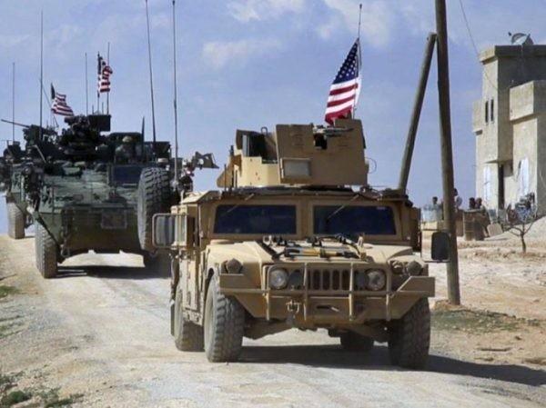 Xe quân sự của Mỹ ở Syria