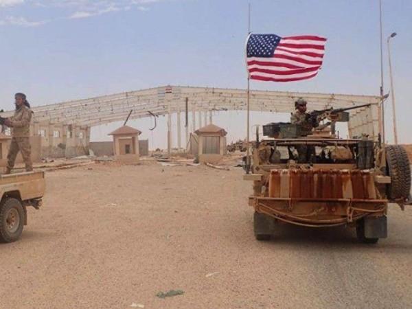 Một căn cứ của quân đội Mỹ ở Syria