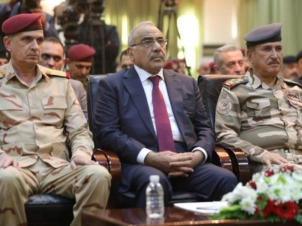 Thủ tướng Iraq Adel Abdul Mahdi (giữa)