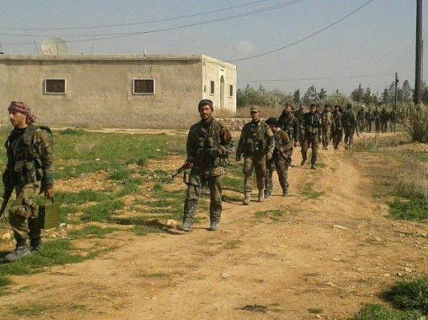SAA triển khai lực lượng đến thung lũng sông Euphrates ở Deir Ezzor, ngày 24-12-2018