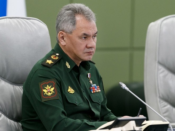 Bộ trưởng Quốc phòng Nga Sergei Shoigu