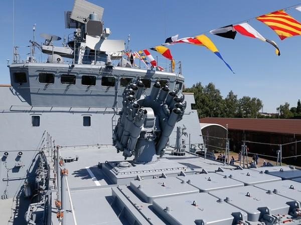 Tàu khu trục Admiral Essen của hải quân Nga