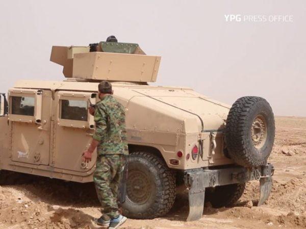 SDF ở Deir Ezzor