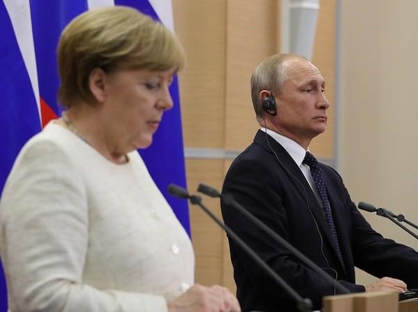 Lãnh đạo Nga, Đức điện đàm trao đổi quan điểm về Syria ảnh 1