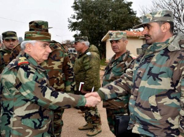Bộ trưởng Quốc phòng Syria đến các tiền tuyến ở Hama để làm gì? ảnh 1