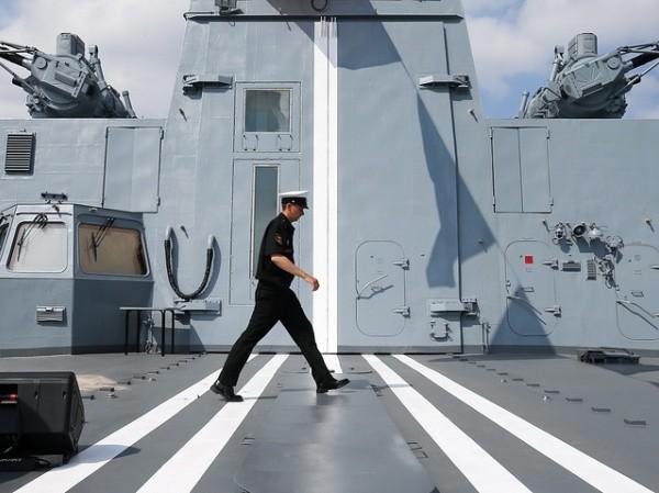 Tàu khu trục Đô đốc Gorshkov Nga thực hiện chuyến đi dài đầu tiên trong năm nay ảnh 1