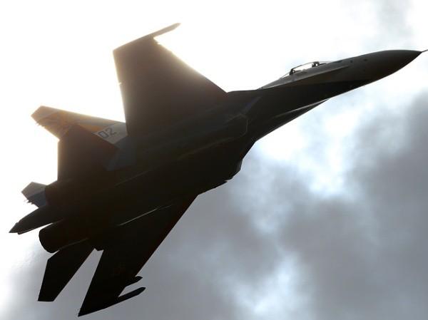 Chiến đấu cơ Su-27 của Hạm đội Baltic thuộc hải quân Nga